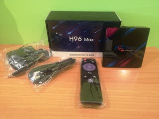 android Tv box hd+ cable hdmi + mando