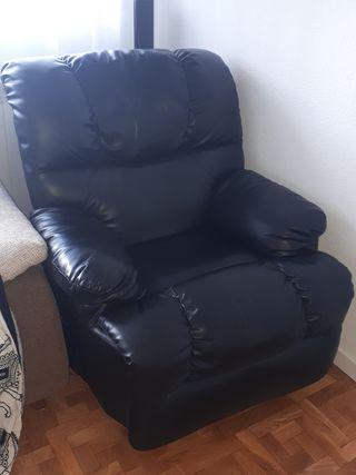 sillón relajante polipiel