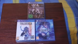 pack final fantasy ps4, dissidia - x/x2 hd y xii