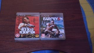 Red dead redemption y far cry 3 ps3 pal uk