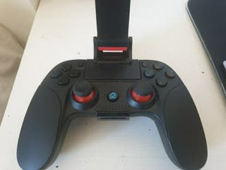 mando Bluetooth con soporte móvil