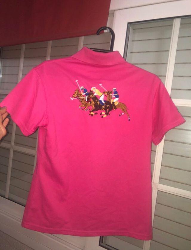 Polo ralph lauren rosa vintage