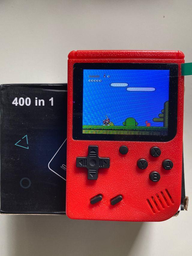 Videoconsola portátil 400 juegos NUEVA