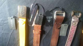 Cinturones Guess y Miss Sixty nuevos con etiqueta