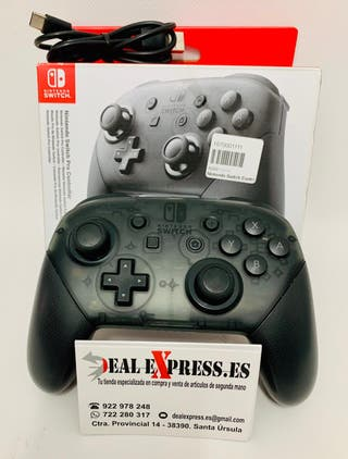 Mando Nintendo Switch pro inalámbrico semi-nuevo