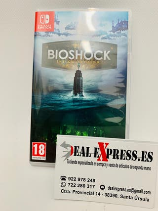 Juego Nintendo switch Bioshock The Collection