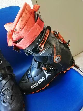 Atomic Backland Carbon. Botas esquí de travesía.