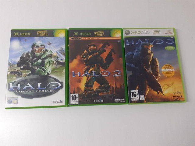 Pack Juegos HALO Xbox 360