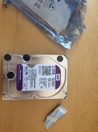 Disco duro WD Purple WD20PURX 2TB