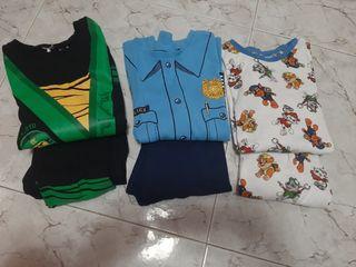 pack pijamas de niño