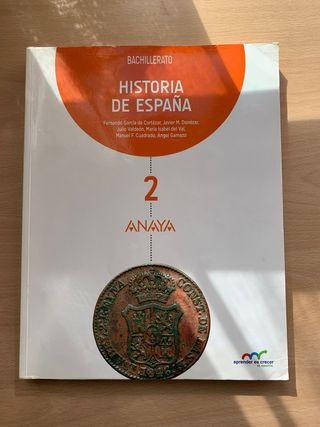 HISTORIA ANAYA 2 BACHILLERATO