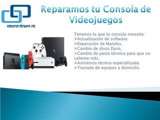 Reparación de Consola XBOX, PLAY, NINTENDO