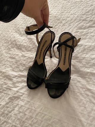 Sandalia de tacón jimmy choo