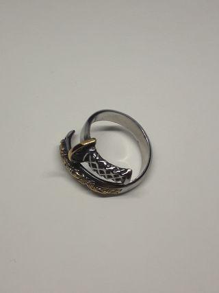 Steel Soldier Fashion Samurai Sword Ring