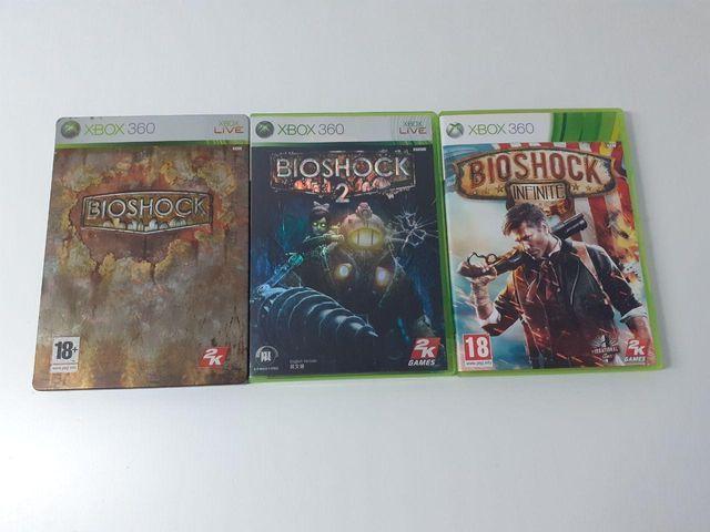 Pack Juegos Bioshock Xbox 360