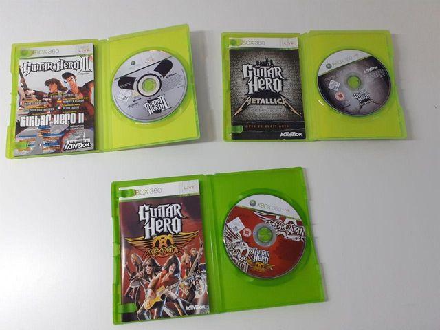Pack Juegos Guitar Hero Xbox 360