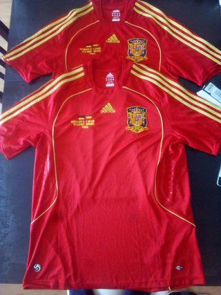 Camisetas Selección Española de Futbol