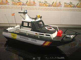 Lancha guardia civil de playmobil