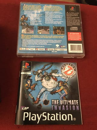 Ghostbusters ultimate invasion ps1