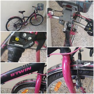 bicicleta bitwn niña de montaña