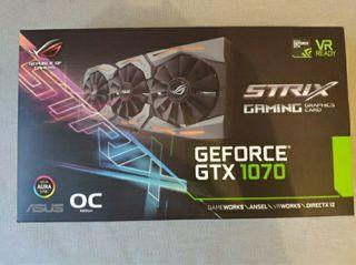 GTX 1070 ASUS STRIX ROG OC