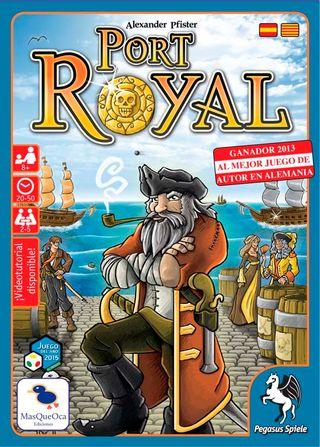 NUEVO Port Royal juego cartas piratas navegación