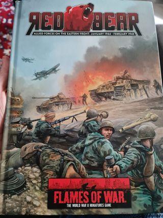 Flames of war V3 Red Bear book