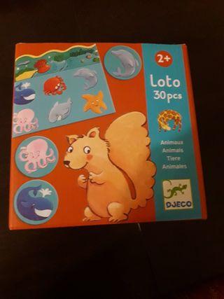 Djeco- Juegos de Mesa Educativos Loto Animales.