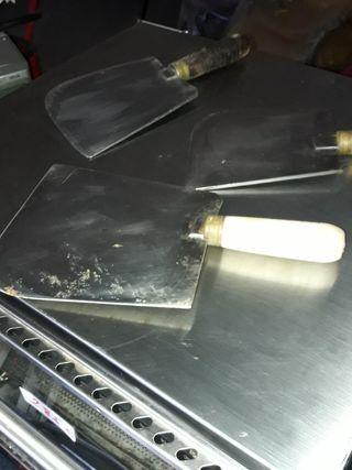 juego cuchillos profesional carniceria