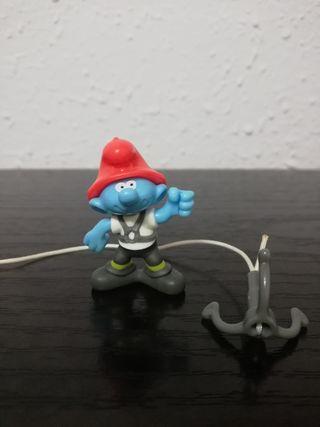 Figura Pitufo Bombero de Kinder Sorpresa