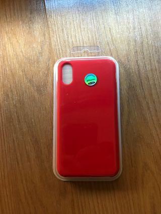 Funda y cristal iphone x/xs