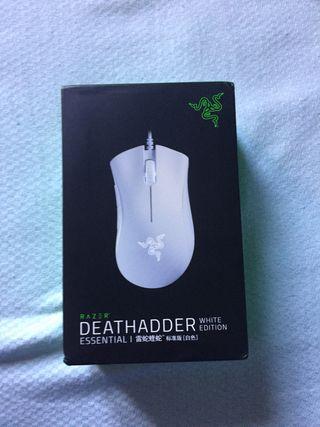 Ratón Razer Deathadder White Edition