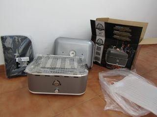 Barbacoa/grill portátil de mesa