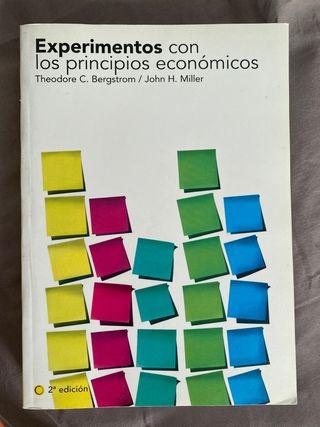 Experimentos con los principios económicos