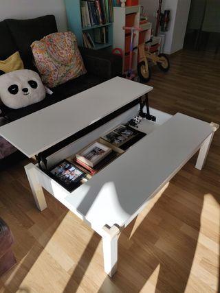 mesa centro Ikea elevado