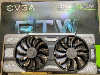 Nvidia EVGA 1080 FTW