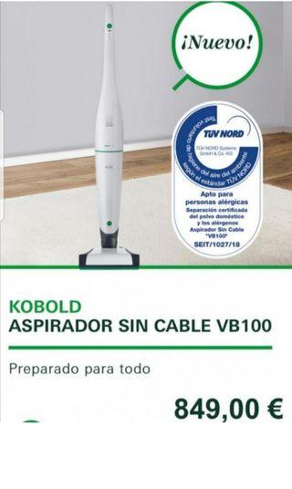 Aspirador sin cable kobold VB100