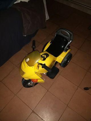 Moto eléctrica niños