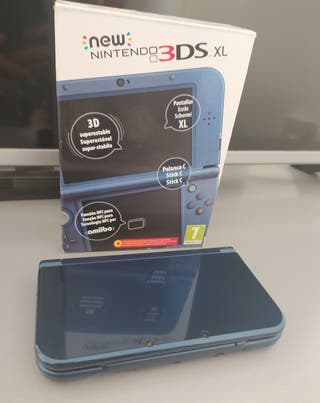 New Nintendo 3ds Xl Azul Metalizado
