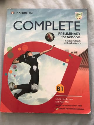 libro inglés b1 cambridge