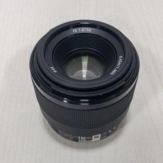 Objetivo Sony FE 50 mm F1.8
