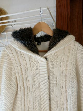 Chaqueta de lana acolchada