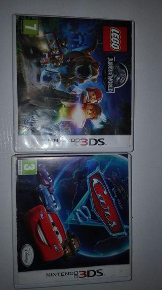 Nintendo 3DS 2x10€