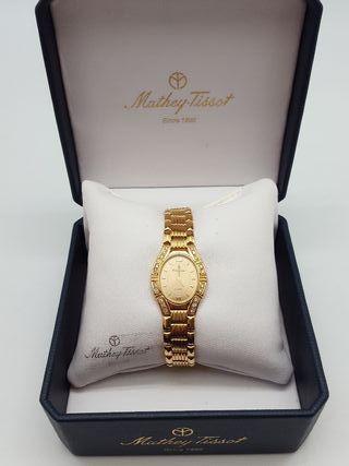 Reloj de oro 18k Mathey-Tissot