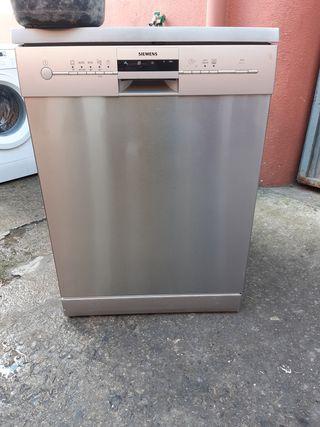 lavavajillas Siemens en acero inoxidable