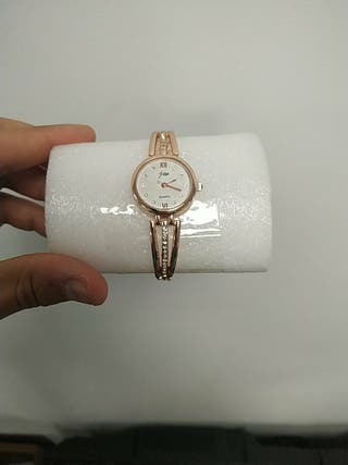 reloj fino brillantes mujer