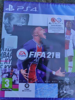 Fifa 21 PS4 Precintado