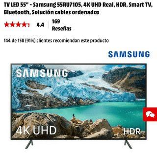 """TV LED 55"""" Samsung 4K Smart Tv"""