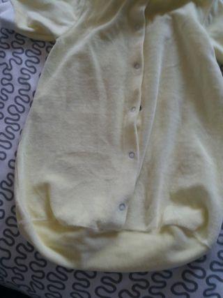 pijama saquito bebe ñiño-a de 0 a 4 meses