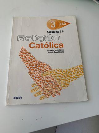 Libro de Religión 3 ESO Edición Algaida